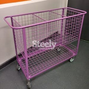 3 Compartment Put Away Trolley